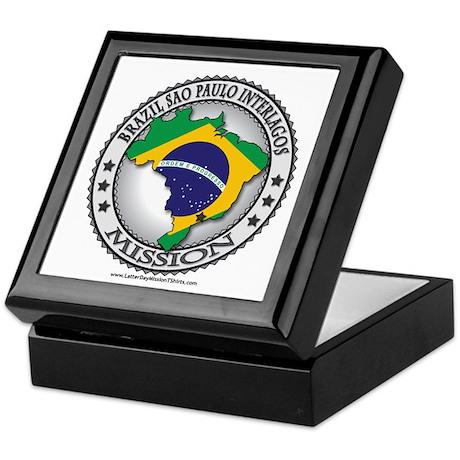 Brazil Sao Paulo Interlagos LDS Mission Flag Keeps