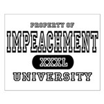 Impeachment University Small Poster