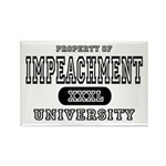 Impeachment University Rectangle Magnet