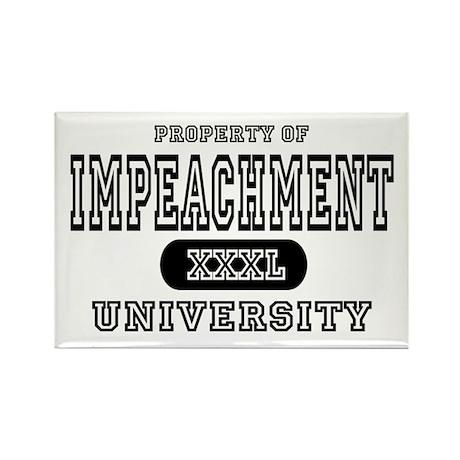 Impeachment University Rectangle Magnet (10 pack)