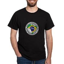 Brazil Salvador South LDS Mission Flag Cutout Map