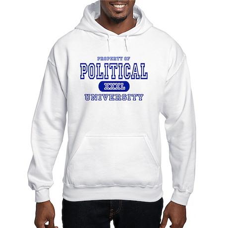 Political University Hooded Sweatshirt