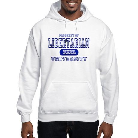 Libertarian University Hooded Sweatshirt