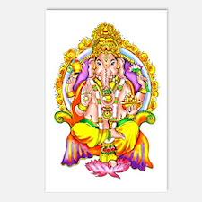 Ganesh Postcards (Package of 8)