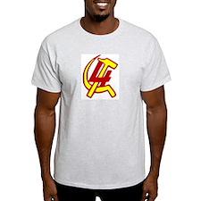 4th International Trotsky Ash Grey T-Shirt