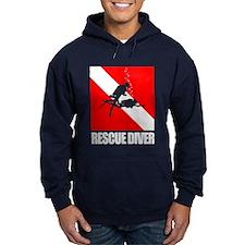 Rescue Diver (blk) Hoodie