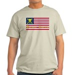 Buccaneer American T-Shirt in ash grey & more