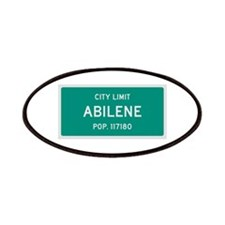 Abilene, Texas City Limits Patches