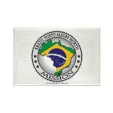 Brazil Porto Alegre North LDS Mission Flag Cutout