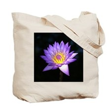 Fire Lily Canvas Tote Bag
