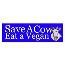 Save a Cow bumpersticker