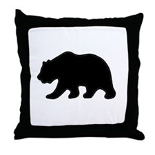 Throw Pillow - Black Bear