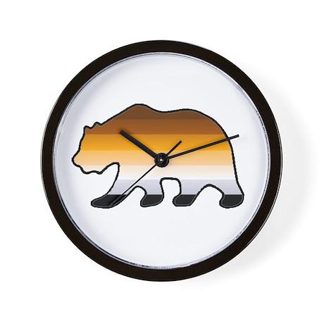 Wall Clock - Leather Bear 2