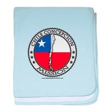 Chile Concepcion LDS Mission Flag Cutout Map 1 bab