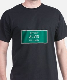 Alvin, Texas City Limits T-Shirt