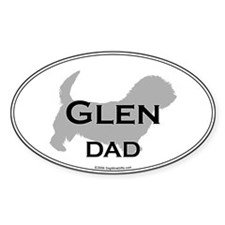 Glen DAD Oval Decal