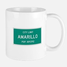 Amarillo, Texas City Limits Mug