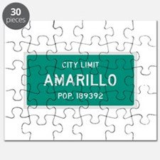 Amarillo, Texas City Limits Puzzle