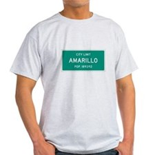 Amarillo, Texas City Limits T-Shirt