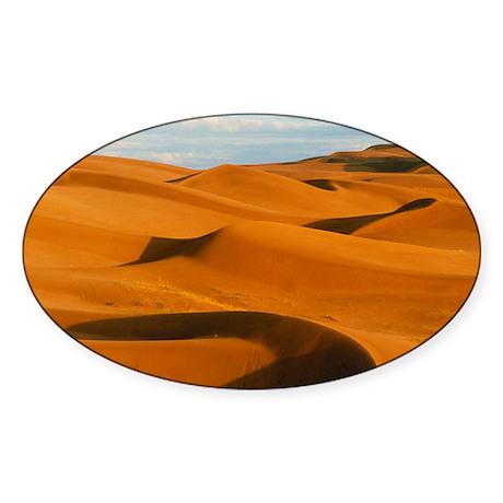 ,near Yuma,California - Sticker (Oval 10 pk)