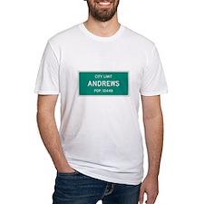 Andrews, Texas City Limits T-Shirt