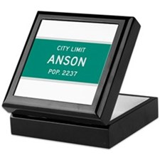 Anson, Texas City Limits Keepsake Box