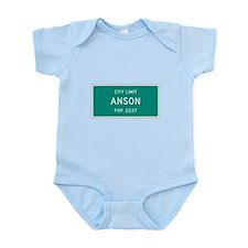 Anson, Texas City Limits Body Suit