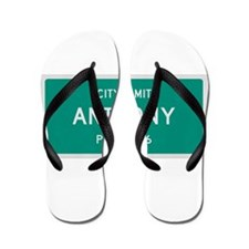 Anthony, Texas City Limits Flip Flops