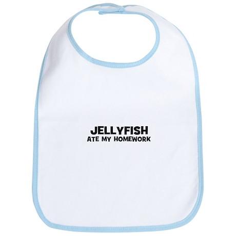 Jellyfish Ate My Homework Bib