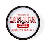Anti-Bush University Wall Clock