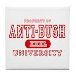 Anti-Bush University Tile Coaster