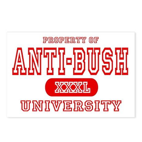 Anti-Bush University Postcards (Package of 8)