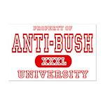 Anti-Bush University Mini Poster Print