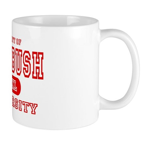 Anti-Bush University Mug