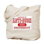 Anti-Bush University Tote Bag