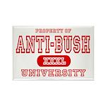 Anti-Bush University Rectangle Magnet