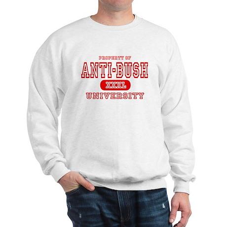 Anti-Bush University Sweatshirt