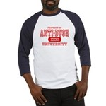 Anti-Bush University Baseball Jersey