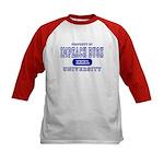 Impeach Bush University Kids Baseball Jersey