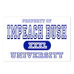 Impeach Bush University Postcards (Package of 8)