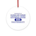 Impeach Bush University Ornament (Round)