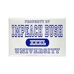 Impeach Bush University Rectangle Magnet (10 pack)