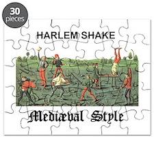 Harlem Shake Medieval Style Puzzle
