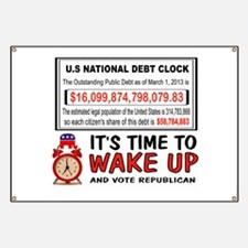 DEBT CLOCK Banner