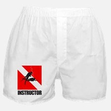 Dive Instructor (blk) Boxer Shorts