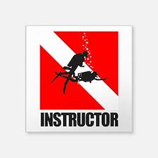 Dive Instructor (blk) Sticker