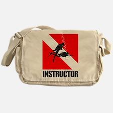 Dive Instructor (blk) Messenger Bag