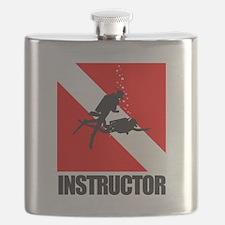 Dive Instructor (blk) Flask