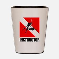 Dive Instructor (blk) Shot Glass