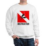Dive Instructor (blk) Sweatshirt